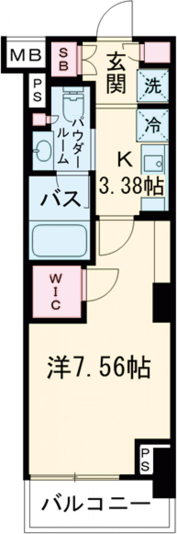 コンフォリア西荻窪・0603号室の間取り