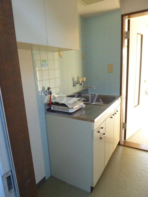 グレイスタカホ 203号室のキッチン