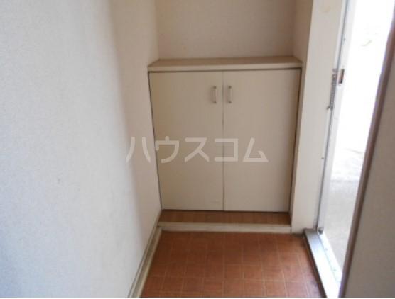 神取ハイツ 101号室の玄関