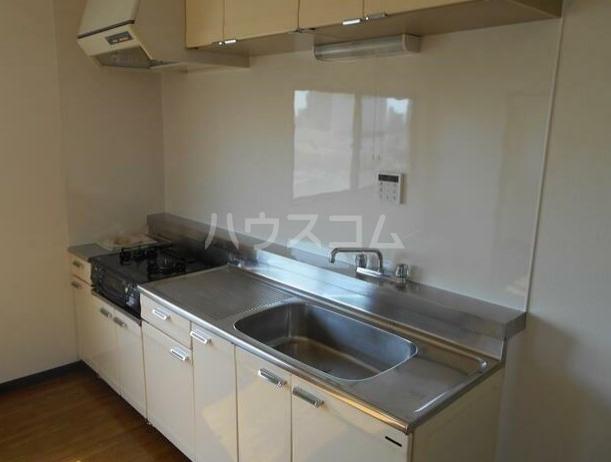 ヴァンセーヌ 203号室のキッチン