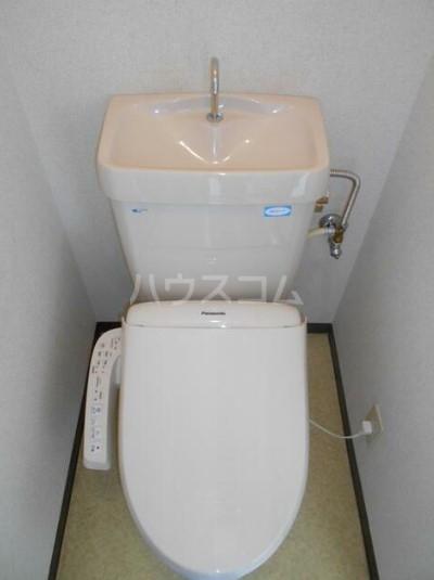 ヴァンセーヌ 203号室のトイレ