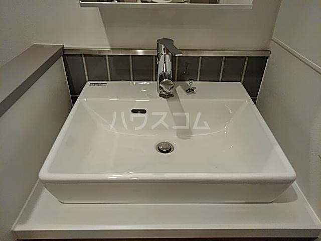 ブーブーヴィラ円町 502号室の洗面所