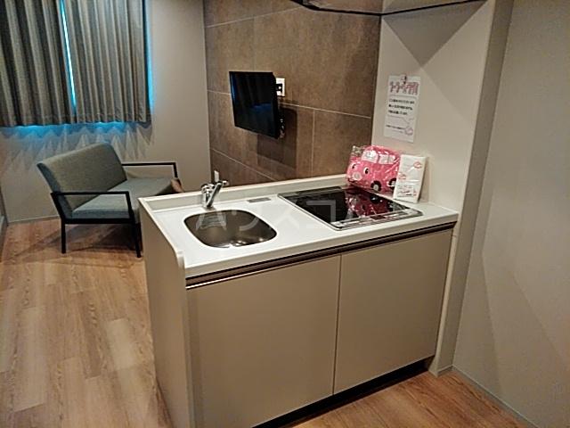 ブーブーヴィラ円町 502号室のキッチン