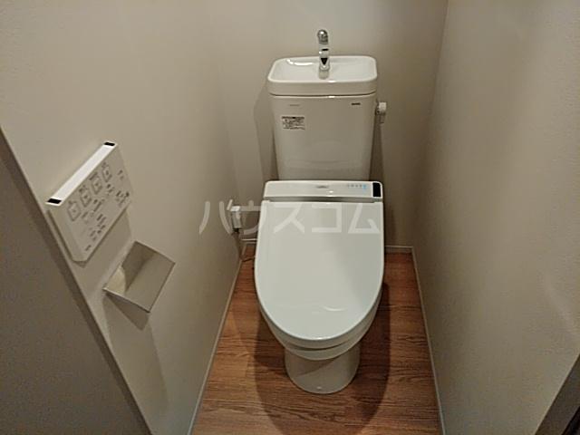 ブーブーヴィラ円町 502号室のトイレ