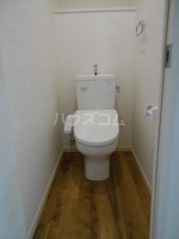 プレベール平尾駅前 602号室のトイレ
