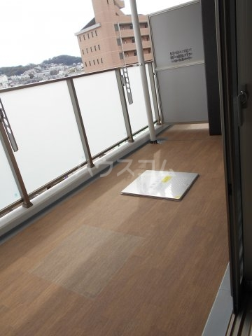 プレベール平尾駅前 602号室のバルコニー