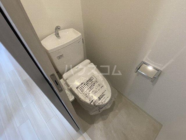 プレジオ豊中 201号室のトイレ