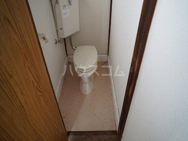 グリーンヴィレッジ 101号室のトイレ