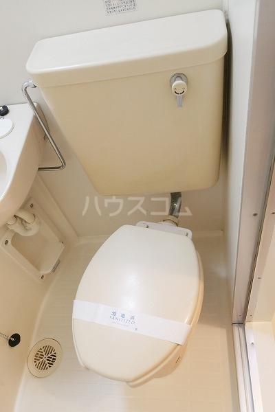 カンタル池袋 203号室のトイレ