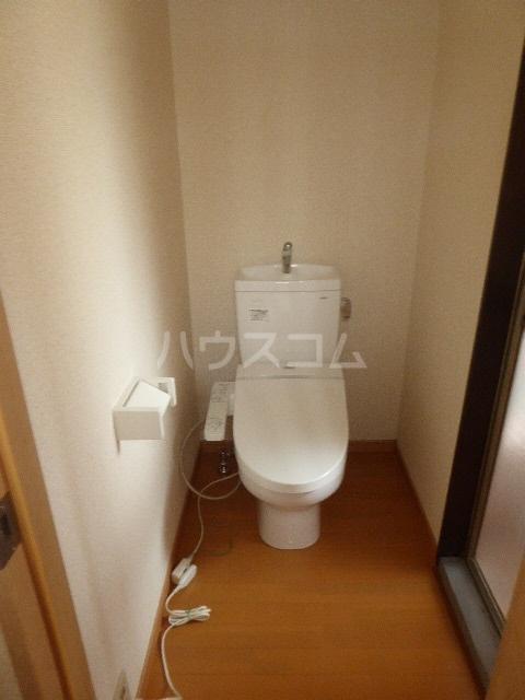 池田貸家のトイレ