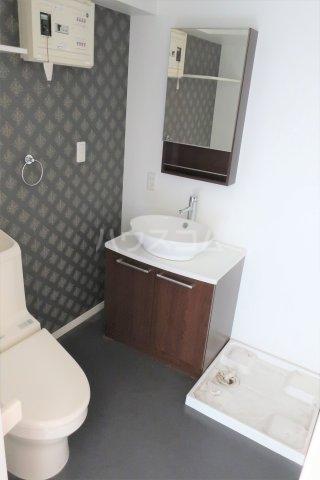 K'sハイツ 202号室の洗面所