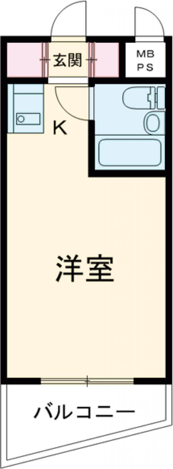 セントエルモ西早稲田・1305号室の間取り