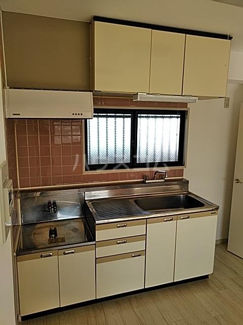 ラ・メゾン2 306号室のキッチン