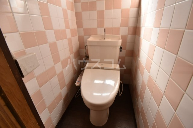 狭山市水野貸家のトイレ