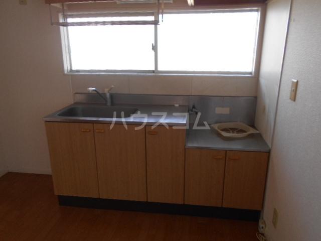 アルカディア金子 101号室のキッチン