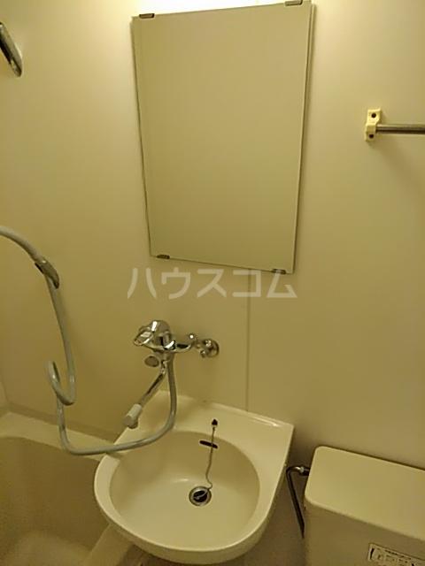 グリーンハウス D号室の洗面所