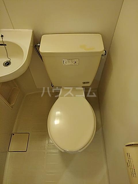 グリーンハウス D号室のトイレ