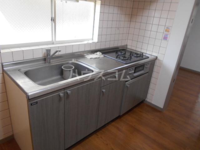 コーポさのやⅡ 201号室のキッチン