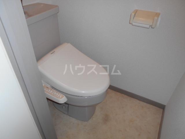 コーポさのやⅡ 201号室のトイレ