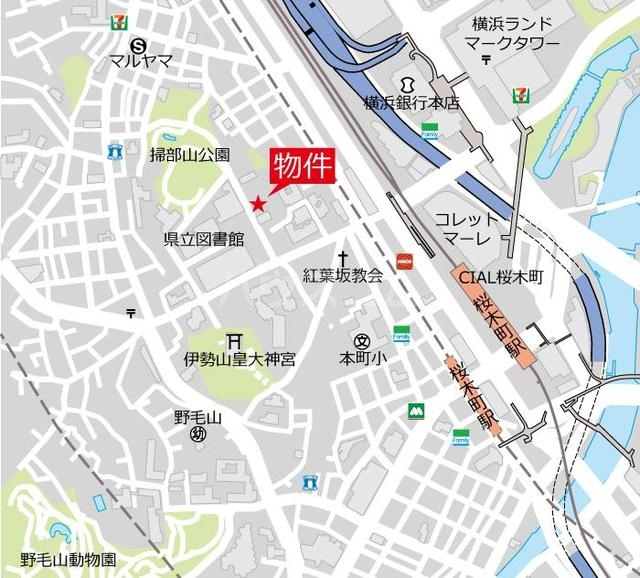 マスターズ ヒル横濱紅葉坂 308号室の居室
