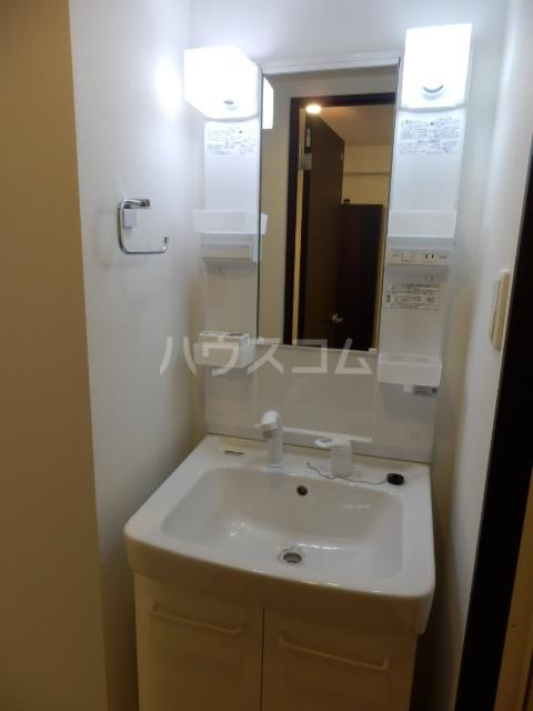 パインレジデンス 401号室の洗面所