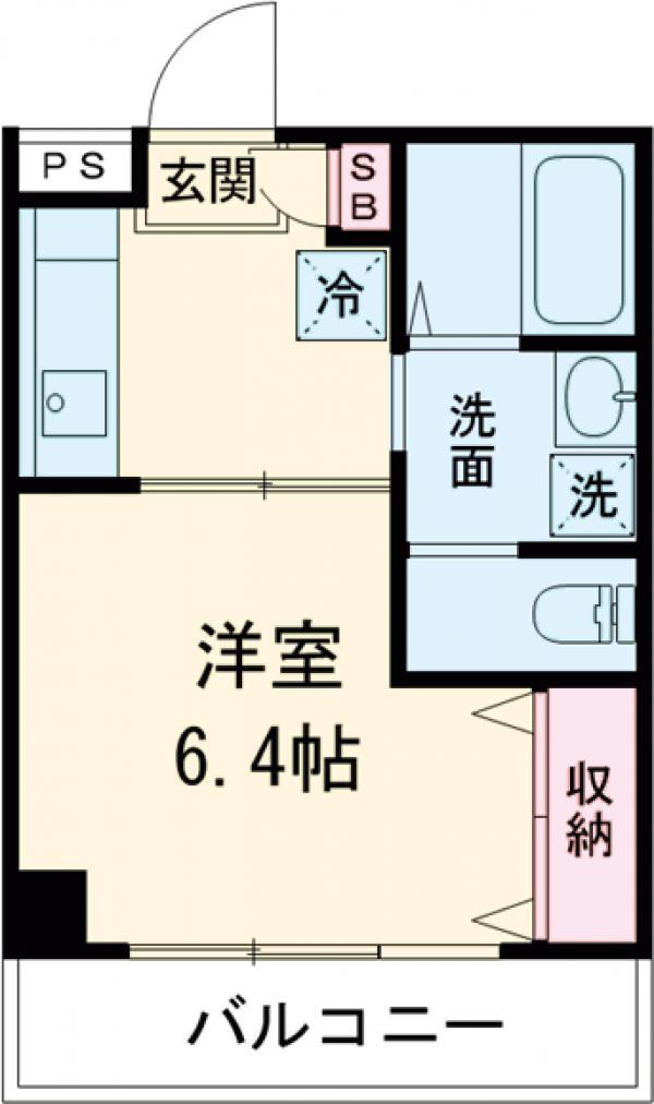 MAC武蔵境コートパート1・305号室の間取り