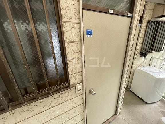 フラット野田 202号室のセキュリティ