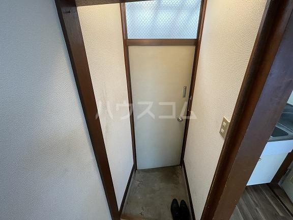 フラット野田 202号室の玄関
