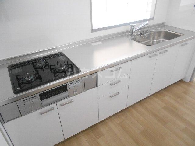 ウェルフォート幸川 1205号室のキッチン