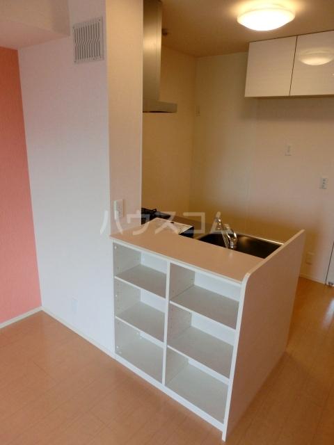 アプリコットガーデン C 302号室のキッチン