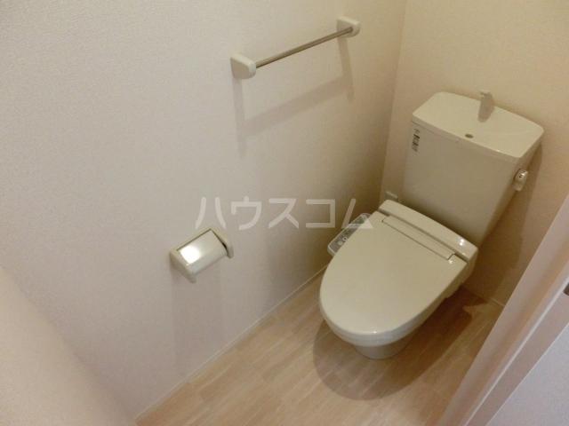 アプリコットガーデン C 302号室のトイレ