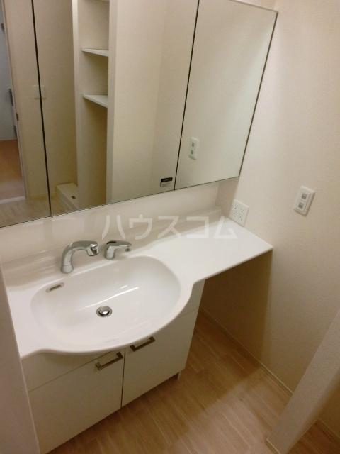 アプリコットガーデン C 302号室の洗面所