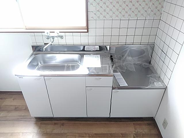 こてはしアパートのキッチン