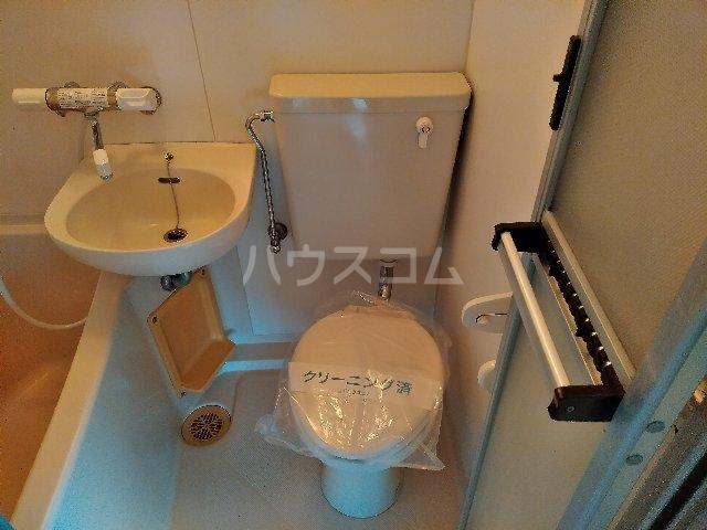 小金井NSハウス 311号室のトイレ