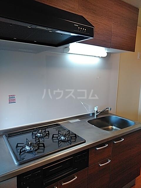 ライオンズマンション中野のキッチン