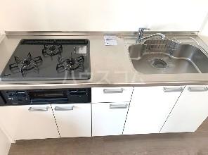 ジョイ尾山台 402号室のキッチン