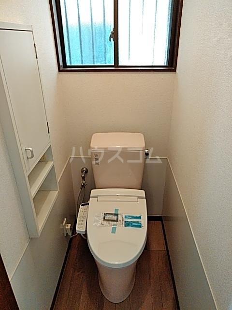 上山口貸家のトイレ