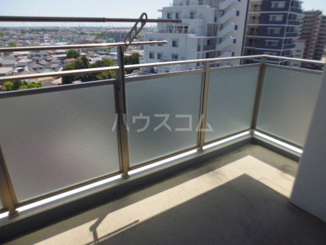 レクセルグランデ鎌ヶ谷エアリーコート 1001号室のバルコニー