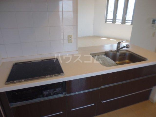 レクセルグランデ鎌ヶ谷エアリーコート 1001号室のキッチン