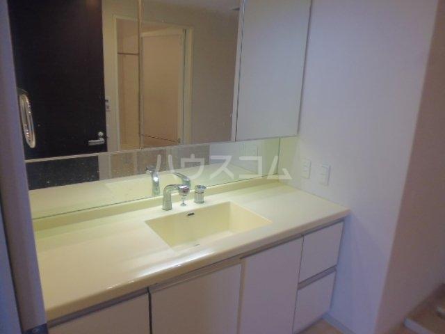 レクセルグランデ鎌ヶ谷エアリーコート 1001号室の洗面所
