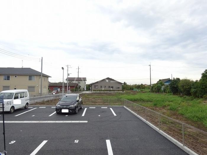 スカイブルーK 101号室の駐車場
