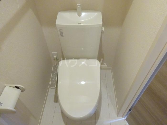 スカイブルーK 101号室のトイレ