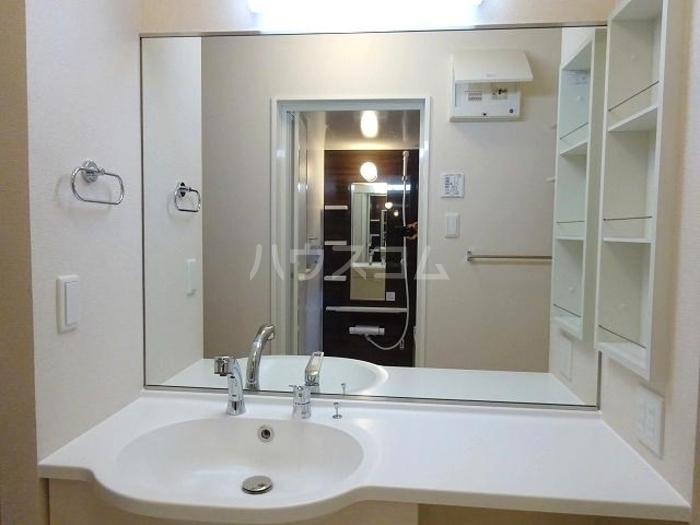 スカイブルーK 101号室の洗面所