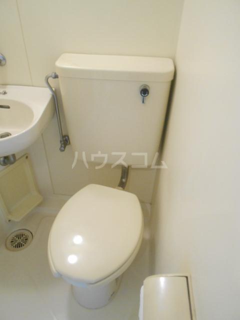 グランドール大橋 205号室のトイレ