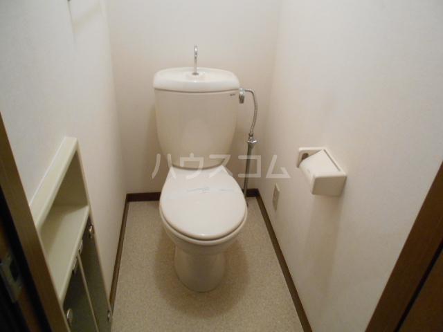 メゾネット小宮2のトイレ