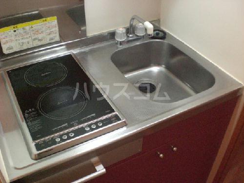 レオパレスサンシャイン 205号室のキッチン