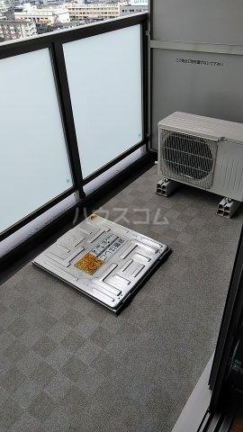SHOKEN Residence亀有 202号室のバルコニー