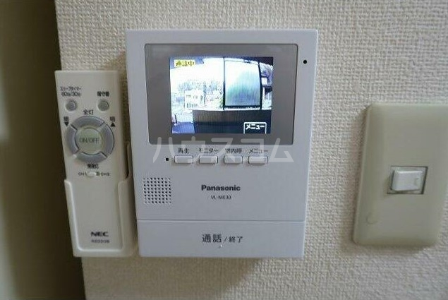 ピュアハイツ 204号室のセキュリティ