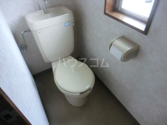 ステーションサイド 201号室のトイレ