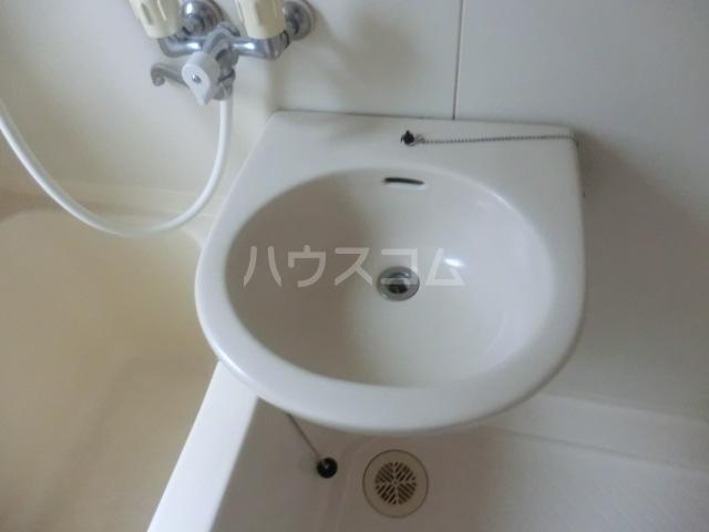 ステーションサイド 201号室の洗面所
